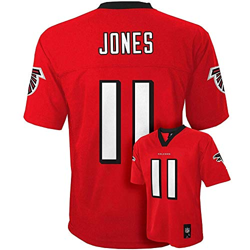 Julio Jones Atlanta Falcons #11 Red Kids Mid Tier Home Jersey (Kids 7)
