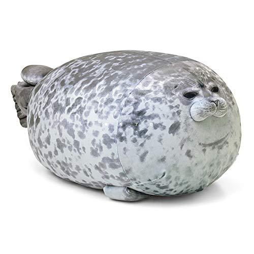 HNOOSTER Plüsch süßes Siegelkissen - gefüllte Plüschbaumwolle mit superelastischem und weichem Aussehen, pflegeleichtes Tierspielzeug