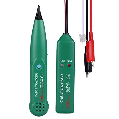 Premewish Entstörungs-Line-Finder-Netzwerk-Kabelmessgerät Cable Tracker