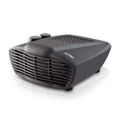 Solac TH8323 Comfort 2000 Interior Negro Radiador/ventilador - Calefactor (Radiador/ventilador, Interior, Negro, Eléctrico)