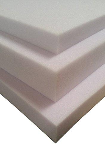 Niro Sportgeräte GmbH Foam Plate Foam Pads Schuim Matrasbeschermers Schuim LxBxH 100x70x8 cm Kleur: wit