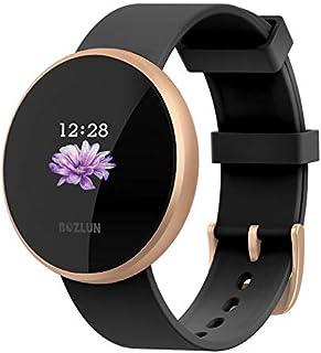 BOZLUN Reloj inteligente para teléfonos Android y iPhones, resistente al agua, con monitor de ritmo cardíaco, monitor de sueño, contador de pasos para mujeres y hombres
