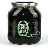 Miel pura de abeja 100%. Miel cruda de Bosque. 1 Kg. Producida en España. Sin pasteurizar ni calentar. Artesana de alta calidad. Tarro de cristal. Gran variedad de exquisitos sabores.