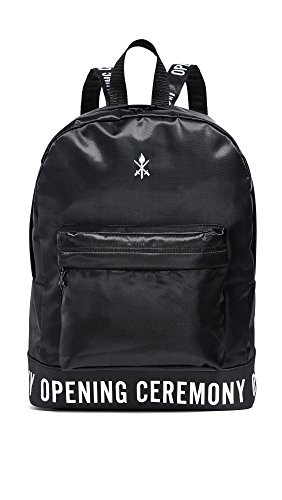 Opening Ceremony Men's Logo Backpack, Black, One Size