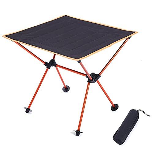 AIHOME Mesa de camping portátil, mesa auxiliar plegable con bolsa de transporte, ideal para cenar, cortar, cocinar, picnic