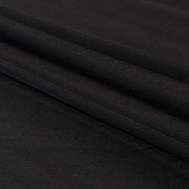 "Liba Fabrics 118"" Batiste, Black"