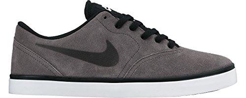 Nike SB Check, Zapatillas de Skateboarding para Hombre, Negro/Blanco (Obsidian/White-Black), 44 EU