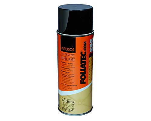 Foliatec F2004 Interior Color Spray, Beige, 1 x 400 ml