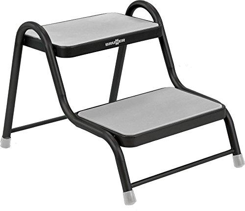 BRUNNER Doppeltrittstufe Step Tritt Stufe Einstieghilfe Black