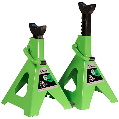 AFF 55060 Viking 6 Ton Ratcheting Style Jack Stand Set
