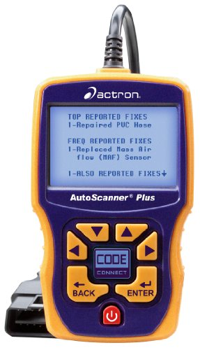 Actron's CP9580A Models Of OBD2 Scanner For Vehicles