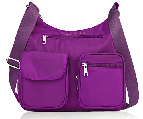 Crossbody Bag for Women Carryall Anti Theft RFID Pockets Nylon Lightweight Shoulder Bag Travel Purse