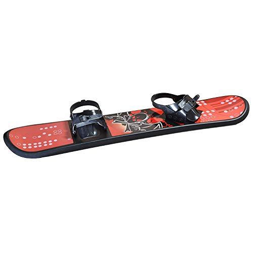 Kids Snowboard Ages 4-15 Adjustable bindings Beginner Snow Board 95 110 126 cm Solid core...