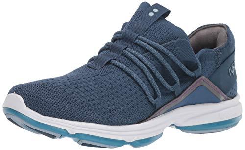 Ryka Women's Devotion Flex Walking Shoe, Navy, 10 M US