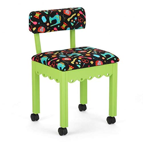 Arrow 7014B Wood Sewing and Craft Chair...
