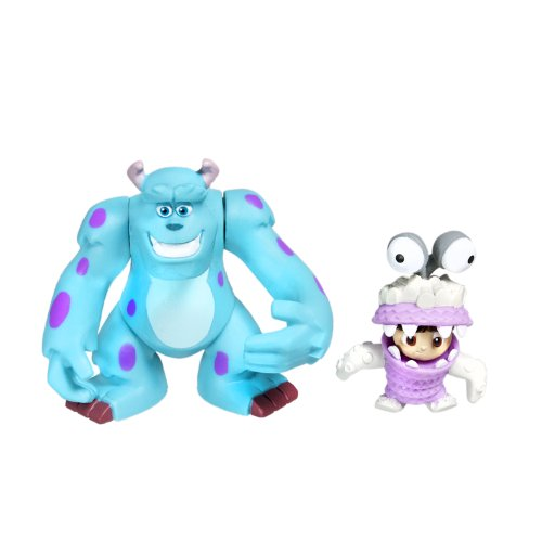 Spinmaster Monsters Inc. Sulley and Boo 2\