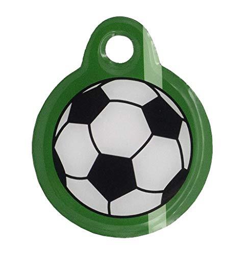 Schlüsselanhänger Fußball mit easyfind-Verlustschutz