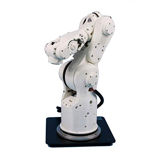 MYLW 6 Axis 6 Dof Robot Arm Multi-Function Humanoid Bionic DIY Education 3D Printed Programmable High Precision Mechanical Suitable for Writing And Painting Spraying CNC Clamping