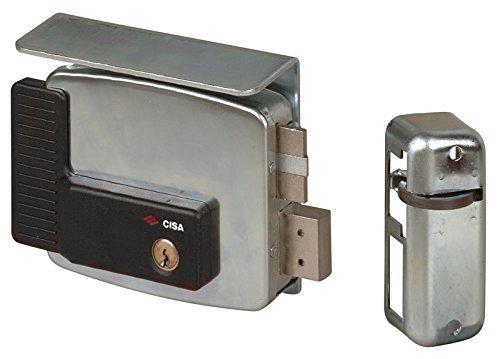 Cisa 11510-60 Serratura Elettrica per Cancello 11761, Entrata Sinistra, 70 mm