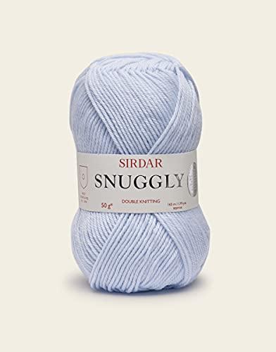 Sirdar Snuggly DK Double Knitting - 50g Pastel Blue (321)