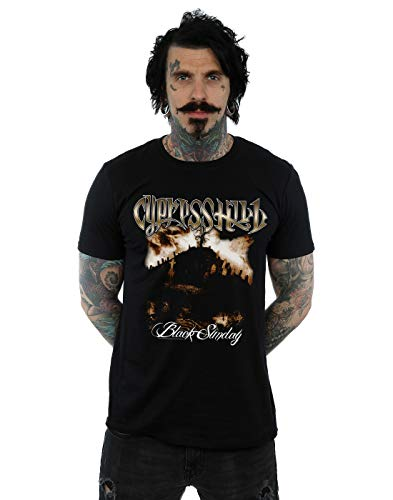 Absolute Cult Cypress Hill Homme Black Sunday T-Shirt Noir XXXXX-Large