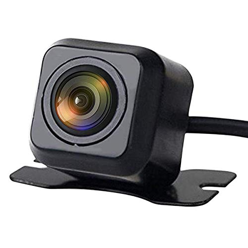DUTTY Rückfahrkamera 170 ° CMOS HD Wasserdichtes Nachtsichtauto Rückfahrkamera Universal für Auto Cars Minivan Truck (HD-001) (HD-001)