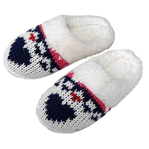 MASSANA Zapatillas de casa para Mujer Z686202 - Crudo, M