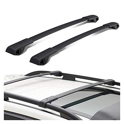 Rack de techo para Subaru Forester 2014 2015 2016 2017 2017 2018 Barra de aluminio de aluminio en la barra de barra transversal de la barra. Baca Coche Universal