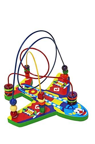 Carlu Brinquedos - Avião Jogo Aramado, 2+ Anos, Multicolorido, 3115