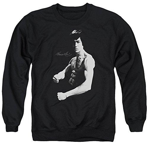 Bruce Lee - - Stance Pull pour hommes, Large, Black