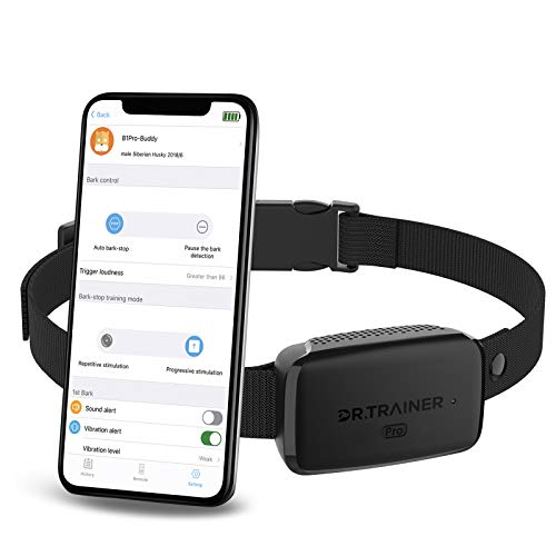 Dr.Trainer B1Pro Dog Bark Collar with APP & Watch...