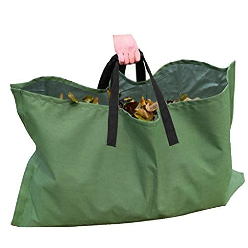 Ranuw 1 Pcs Bolsas para Residuos De Jardín, Estuche De Lona Impermeable, Juguetes para Acampar, Bolsas De Almacenamiento para El Hogar, Contenedor De Hojas, Bolsas para Residuos