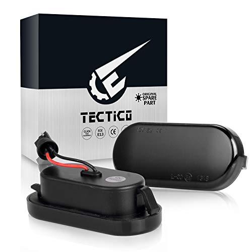 TECTICO Blinker Seitenblinker Dynamische Blinkleuchte Laufblinker Fehlerfrei für Auto, 2 Stück