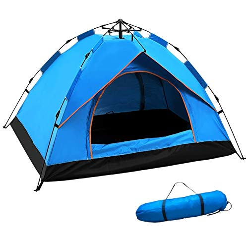 Family Camping Tent Pop Up Tent, Portable Sun Shelters Tents Backpacking Quick Installation, Ideal for Couples Travel, Family Camping, Hiking Fishing Hunting