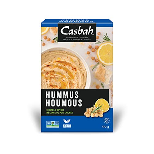Casbah Authentic Grains, Hummus Chickpea Dip Mix, 6 Ounce (Pack of 12)