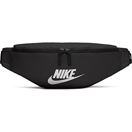 Nike Sportswear Heritage, Marsupio Unisex Adulto, Black/Black/White, Misc
