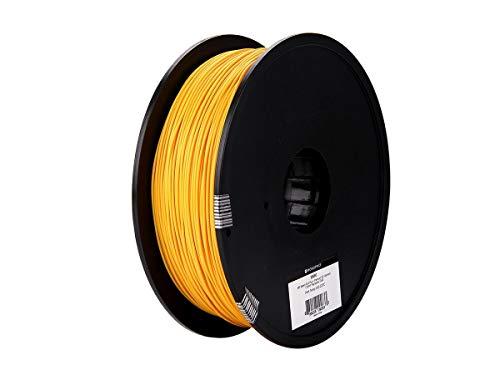 MonopriceMP Seleziona PLA Plus + Filamento 3D Premium - Oro, 1 kg/bobina, 1,75 mm di spessore, PLA Plus + è più forterispetto alPLA ordinario