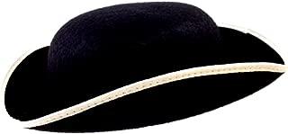 Jacobson Hat Company Adult Permalux Felt Tricorn Hat- Large