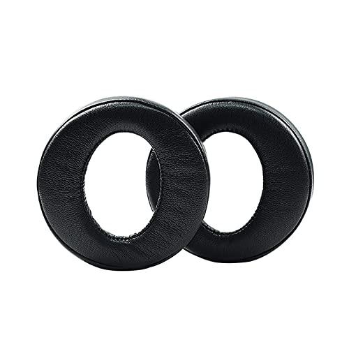 Cuffie Cechya-0090 Cuscinetti per cuffie di ricambio per cuffie - Black Earmuffs Memory Foam Ear Poppe per orecchio Pelle proteica Coperchi dell'orecchio per PlayStation Platinum Wireless Cuffiets Gam
