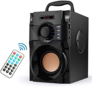 $39 » Sponsored Ad - Portable Bluetooth Speaker with Subwoofer Wireless Bluetooth Speakers Deep Bass Stereo Outdoor/Indoor Party...