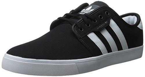 adidas Originals Men's Seeley Shoe, Black/Running White Gum, 11 M US
