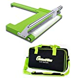 Cutterpillar Crop Paper and Photo Trimmer with Nylon Travel Tote Bag