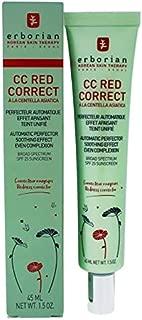 Erborian Cc Red Correct Automatic Perfector Spf 25 By Erborian for Women - 1.5 Oz Sunscreen, 1.5 Oz/45ml