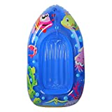 44' Inflatable Blue Sea Life Children's Swimming Pool Boat Raft Float