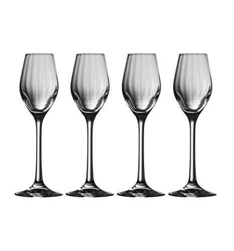 Galway Crystal Erne-Sherry-Gläser (Set von 4), transparent, 4Stück