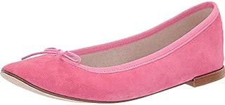 Repetto Women's Cendrillon - Suede Leather Pink Suede 38 M EU