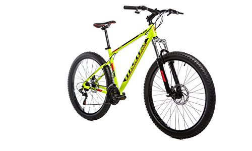Moma Bikes, Vélo VTT, PLUS 27,5', Aluminium, SHIMANO 21V, Freins a Disque, Suspension Avant (Plusieurs tailles)