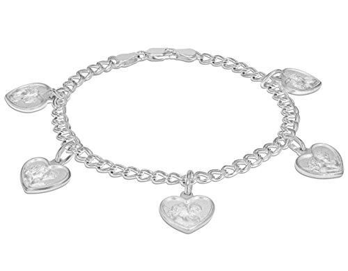 Tuscany Silver 8.23.3602 - Pulsera de plata de ley (925/1000)