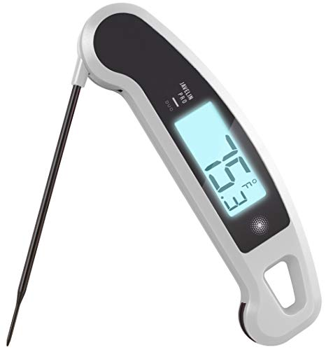 Lavatools Javelin PRO Duo Ambidextrous Backlit Digital Instant Read Meat Thermometer for Kitchen, Food Cooking, Grill, BBQ, Smoker, Candy, Home Brewing, Coffee, and Oil Deep Frying Limited Edition 003