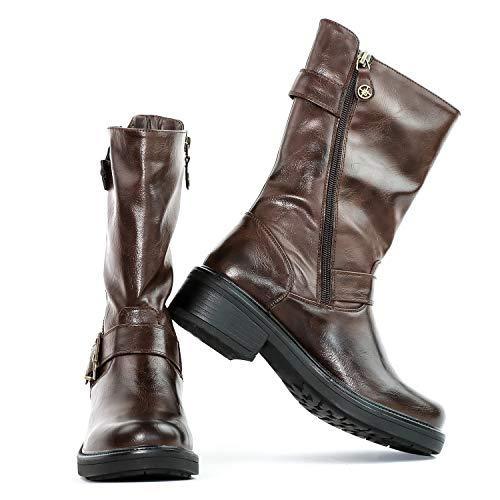 CHATTAWAK Bottines - Boots - Cuir - Carolina